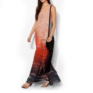 Urban Outfitters Moon & Sky Ombre Tie Dye Maxi L